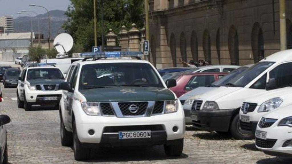 Cuatro personas resultan heridas en un accidente múltiple en Huelva