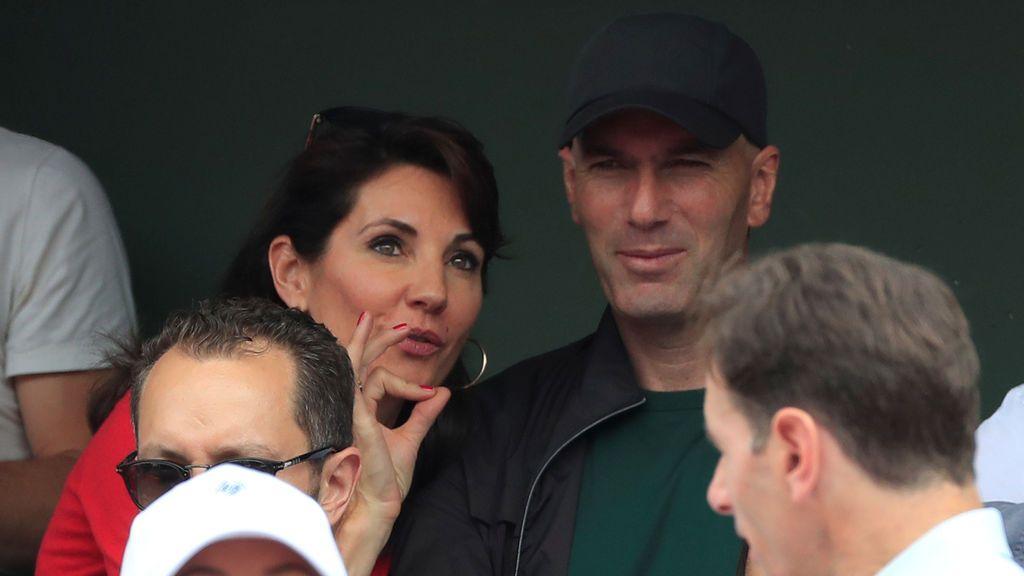 Zidane reaparece en la final de Roland Garros tras su adiós al Real Madrid
