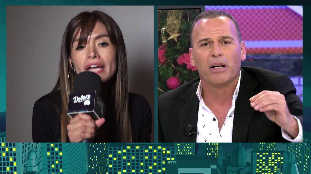 """Carlos Lozano estalla contra Miriam: """"Estás en la televisión por hablar m**** de mí"""""""