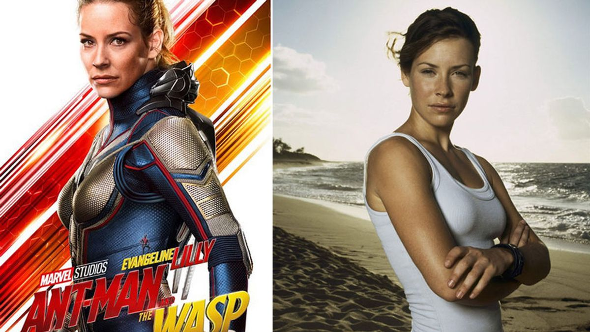 Evangeline Lilly, Kate en 'Perdidos' y 'La Avispa' en el Universo Marvel