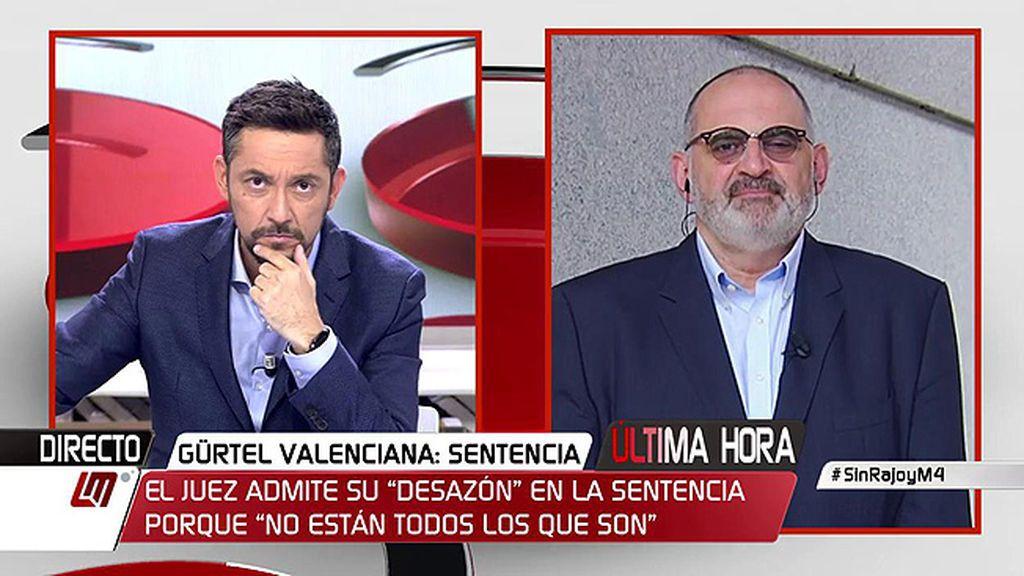 """Antón Losada: """"Cuanto más te aplauden en el PP, más en peligro estás"""""""