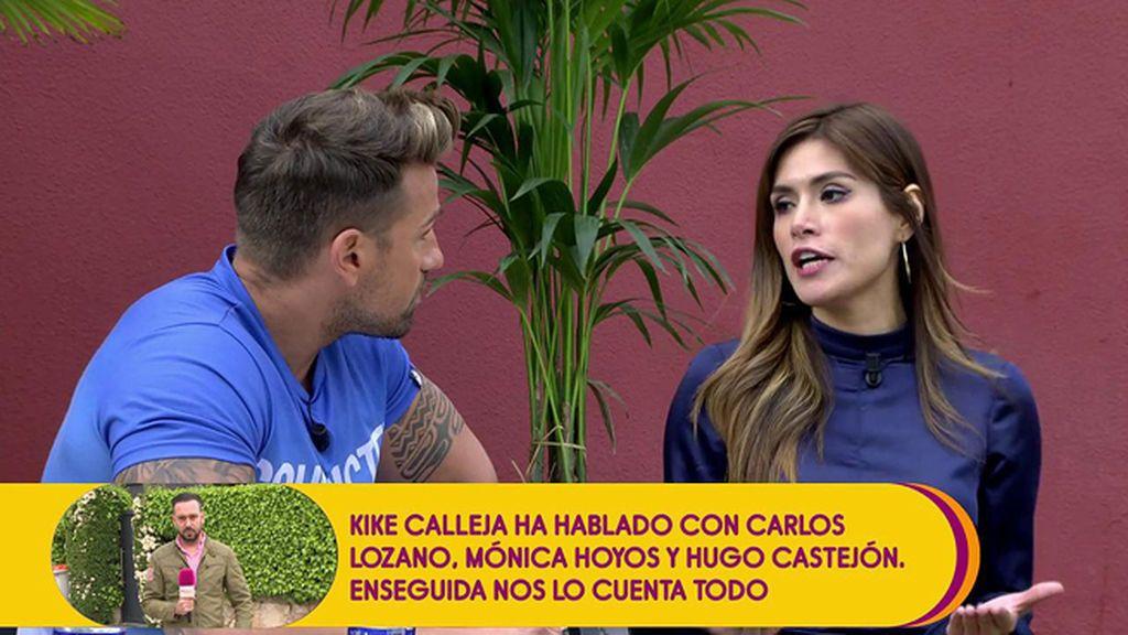 """Rafa Mora, sobre Miriam Saavedra: """" Practicó 'deporte de contacto' con Hugo Castejón"""""""