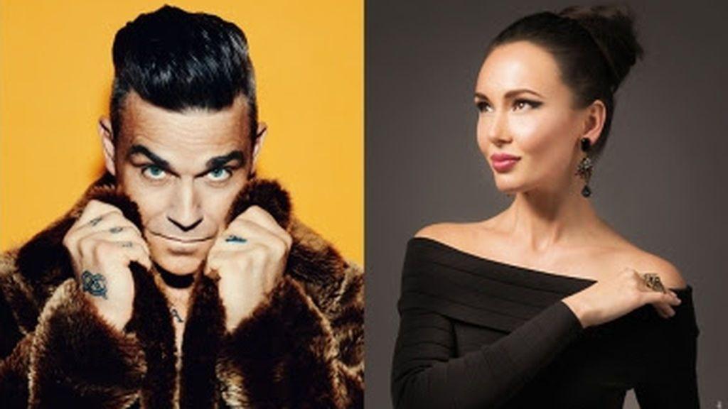 Robbie Williams, Aida Garifullina y Ronaldo