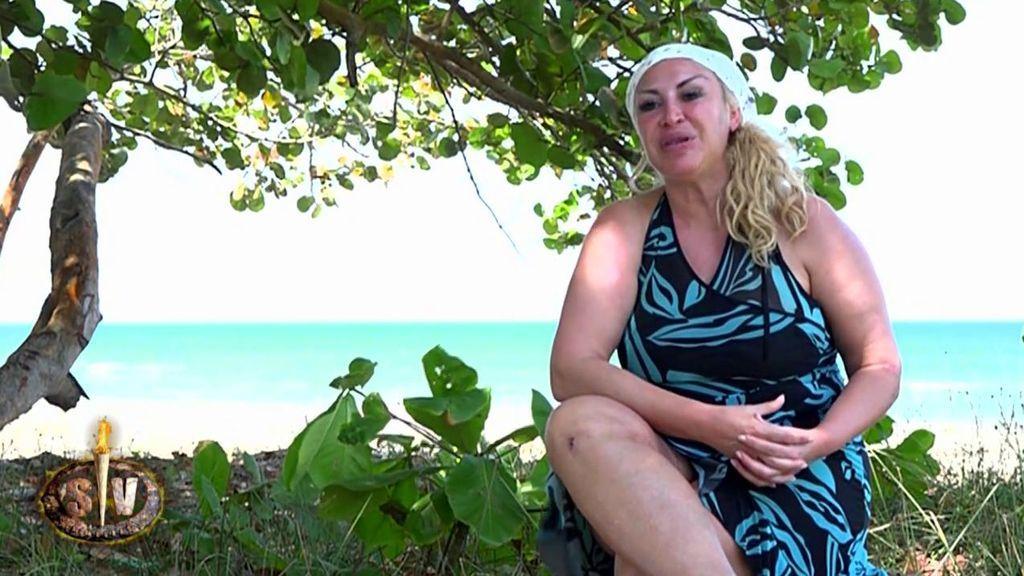 """Así comenzaba 'SV' Raquel Mosquera: """"Para mí ser un buen superviviente es ser fuerte de mente"""""""