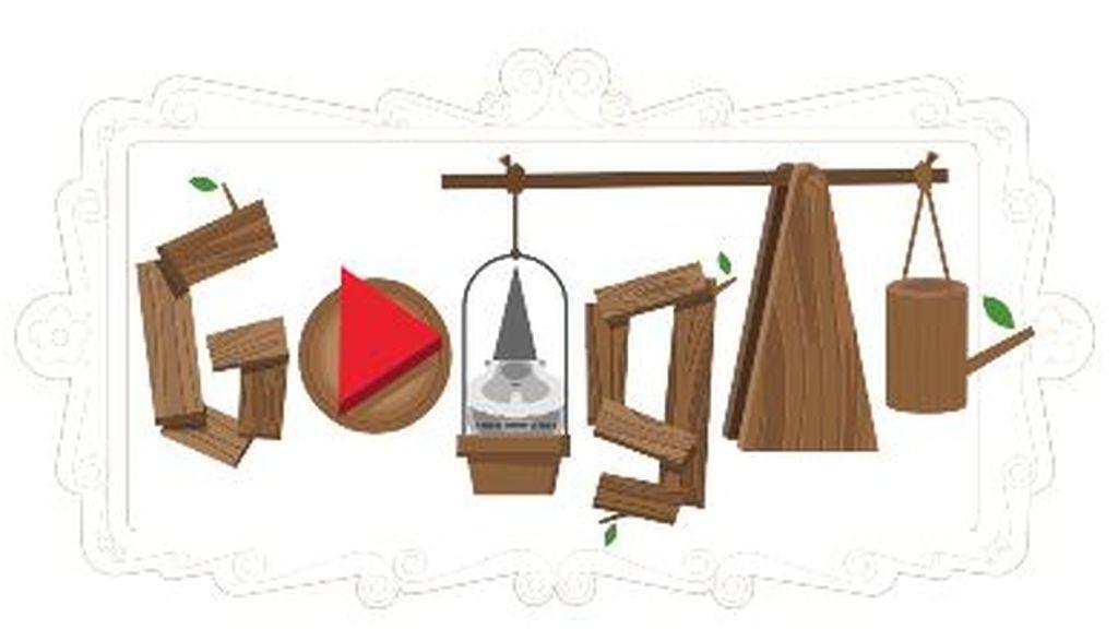 Google homenajea a los gnomos de jardín con un doodle interactivo