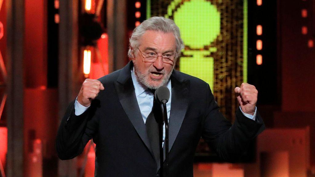 Discurso de De Niro durante los premios Tony
