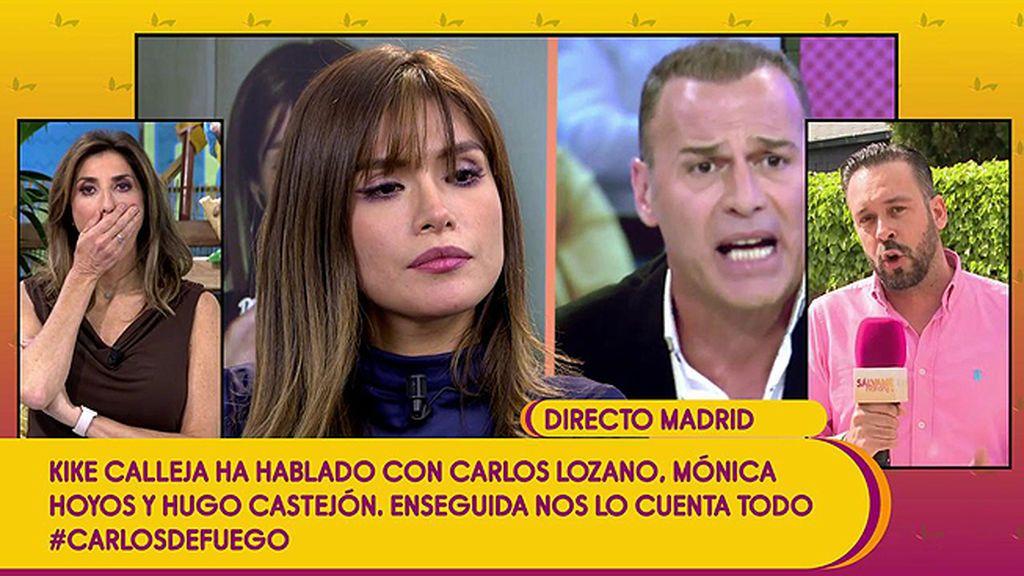 """Miriam Saavedra estalla contra Carlos Lozano: """"¡Sal inmediatamente y para esto ya!"""""""