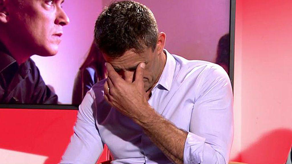 Inesperada y muy emotiva: la despedida de Alonso Caparrós de 'Sálvame'