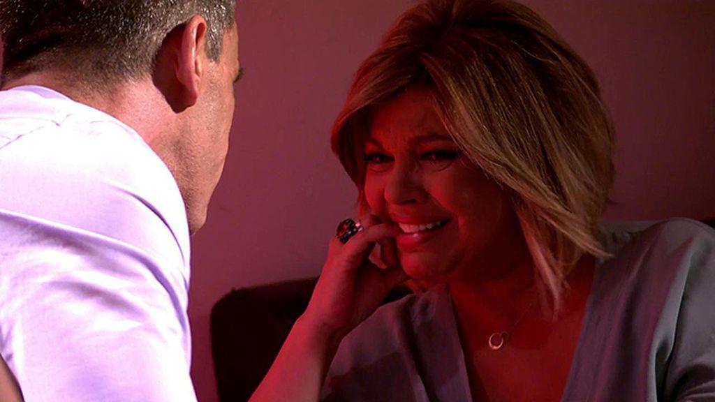 Terelu, desolada con la decisión de Caparrós de dejar 'Sálvame'