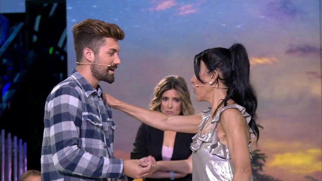 "Maite Galdeano pone firme a Albalá: ""No sé si me apetece que estés con mi hija"""
