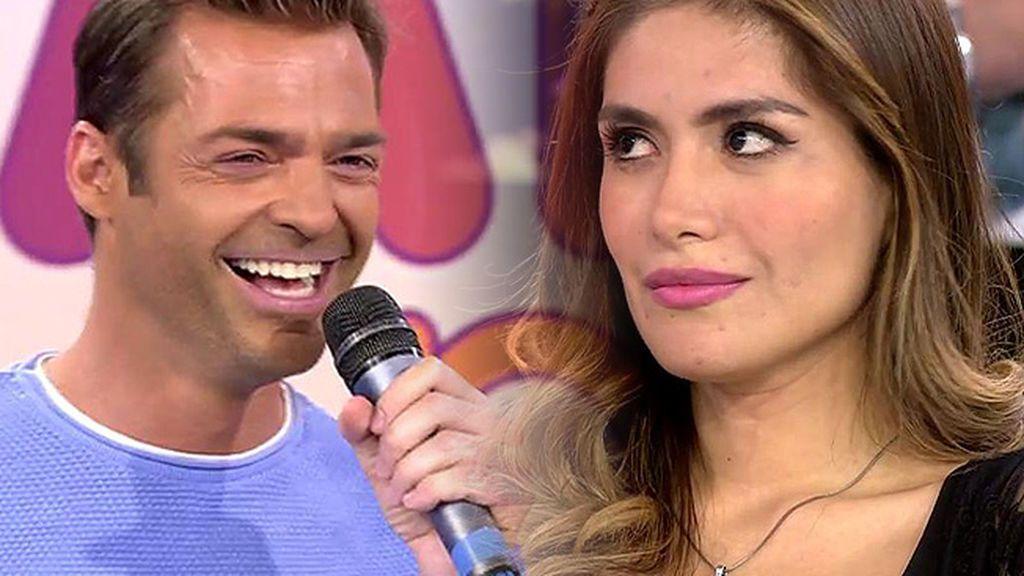 La petición del público a Hugo Castejón y Miriam Saavedra: ¡Que se besen!