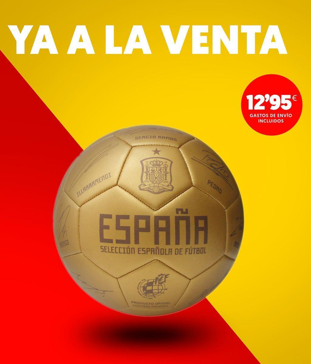 No te pierdas el nuevo Balón dorado de la Selección ¡Edición limitada!
