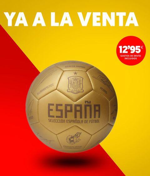 No te pierdas el nuevo Balón dorado de la Selección ¡Edición limitada! 1311e15b86246