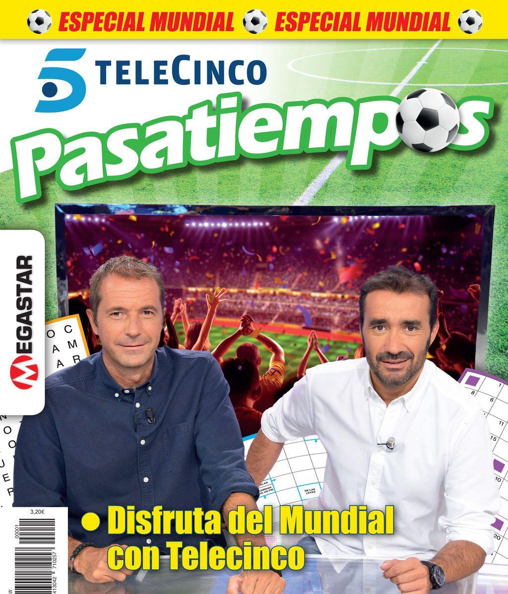 Pasatiempos Telecinco Edición Mundial ¡Ya en tu quiosco!