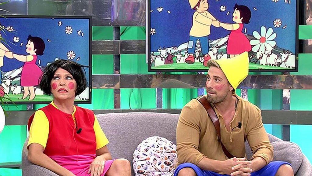 Heidi y Pedro se convierten en los protagonistas de 'Sálvame'