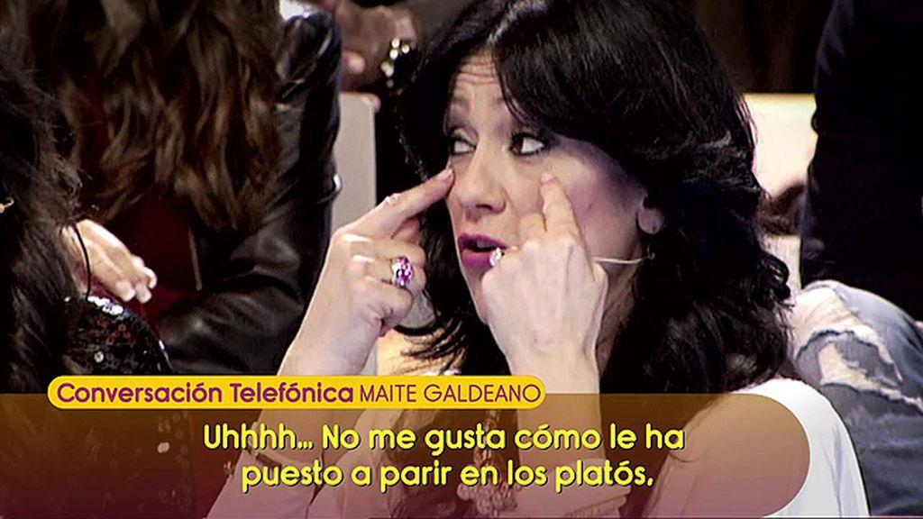 "Maite Galdeano vuelve a arremeter contra Alejandro Albalá: ""No siente nada por Sofía"""