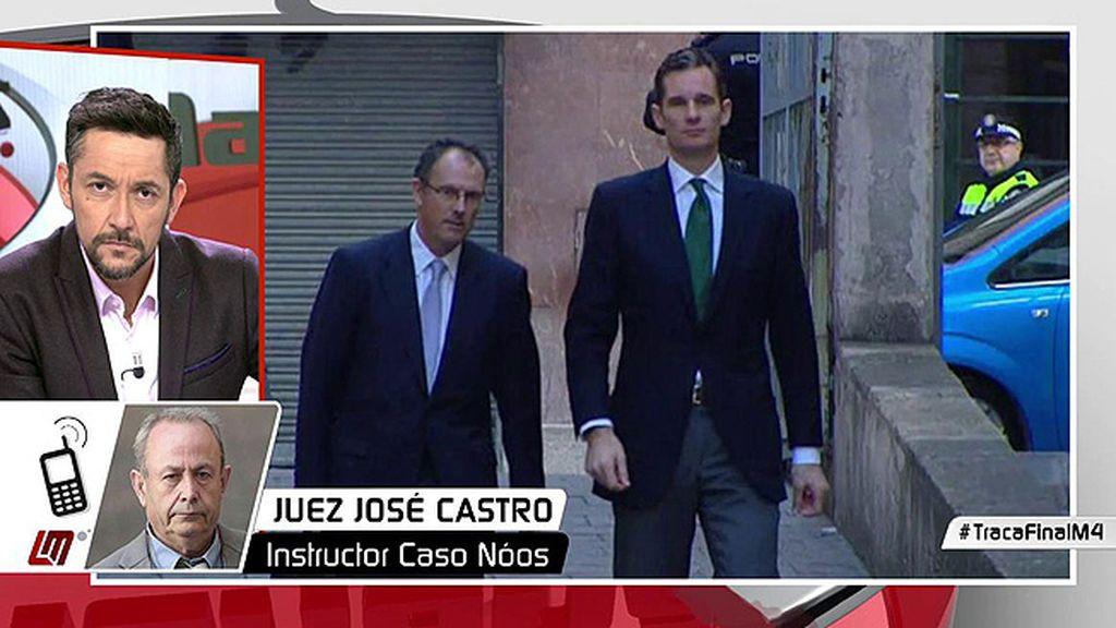 """El juez Castro, de la sentencia de Noos: """"Parece que la sentencia lamenta estar vinculada a los hechos probados"""""""