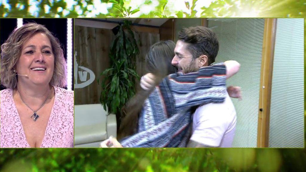 ¡Sorpresa! Hugo se enternece al recibir la visita inesperada de su hermana Marta