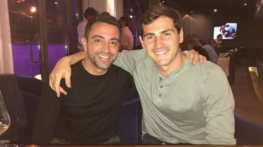 La cena de Iker Casillas y Xavi en Moscú donde recuerdan sus tiempos en la Selección