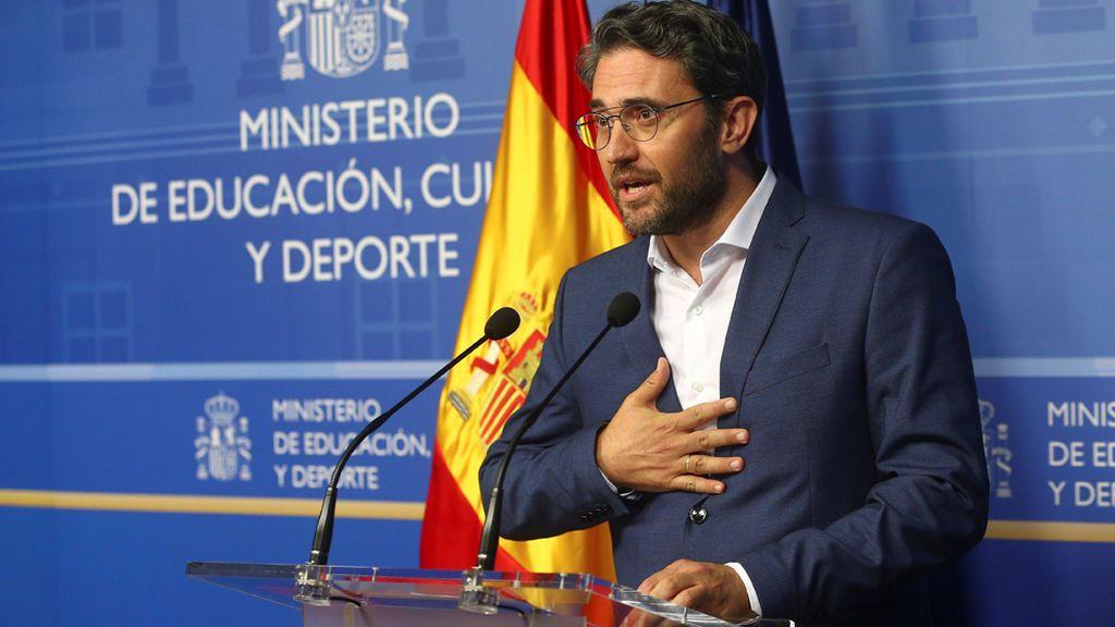 Los políticos, divididos entre la crítica y la alabanza a la dimisión de Màxim Huerta