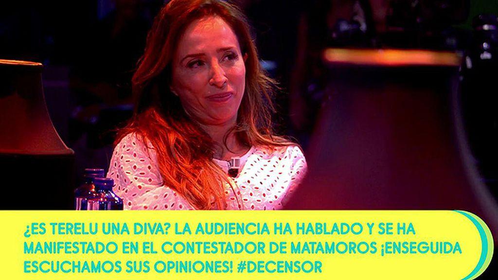 """María Patiño no se fía de Matamoros: """"No sé por dónde vas a ir"""""""