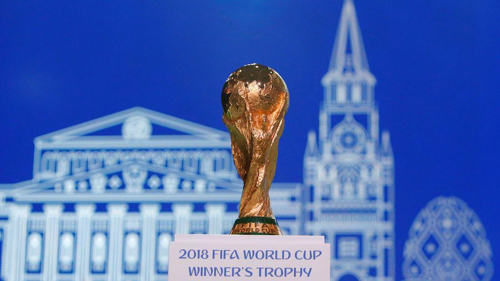 El trofeo del Mundial ya se exhibe en Moscú