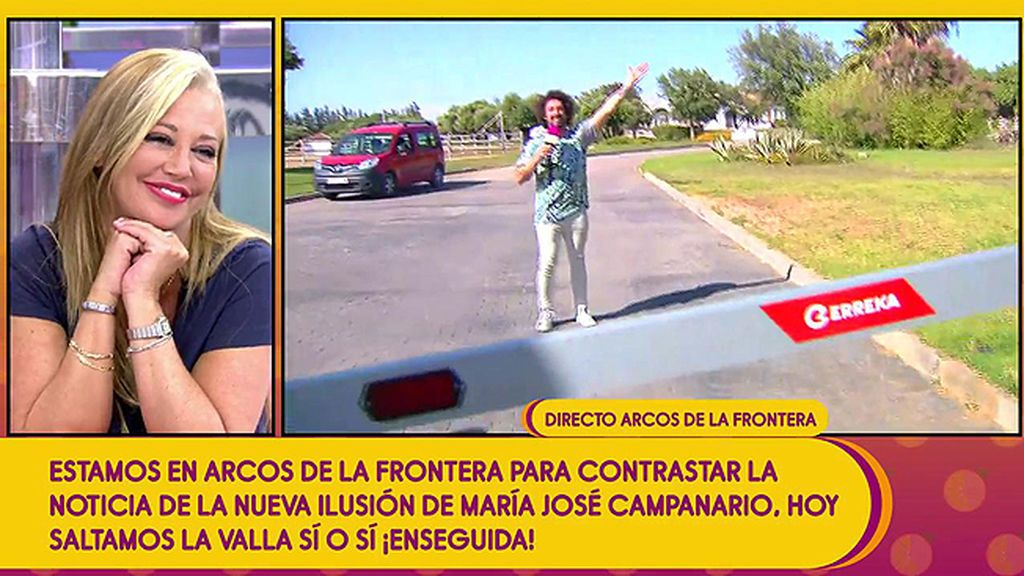 'Sálvame' se cuela por primera vez en la urbanización de Jesulín de Ubrique y María José Campanario