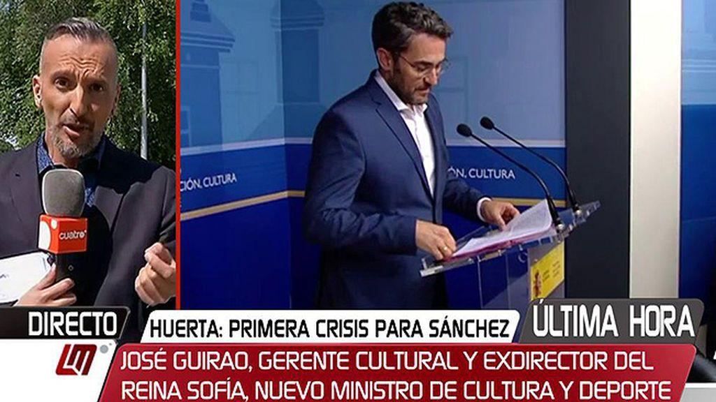Lo que va a cobrar Màxim Huerta: 1.100€ de sueldo y 900 de indemnización