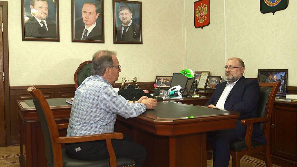 El 91% de la población chechena vota a Vladímir Putin
