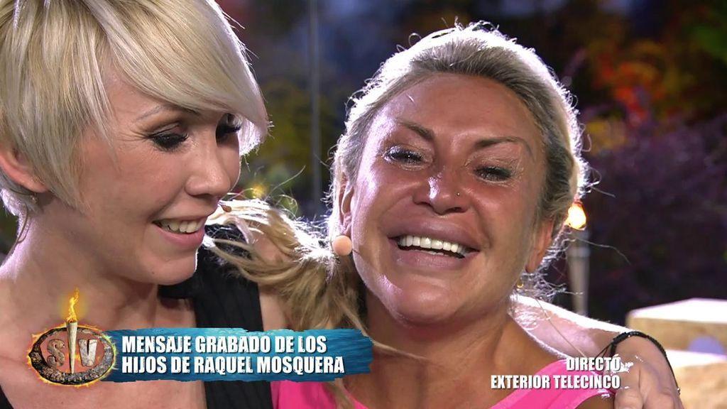 ¡Sorpresón para Raquel! Se come a besos a su hermana Silvia y se rompe en dos al escuchar a sus hijos