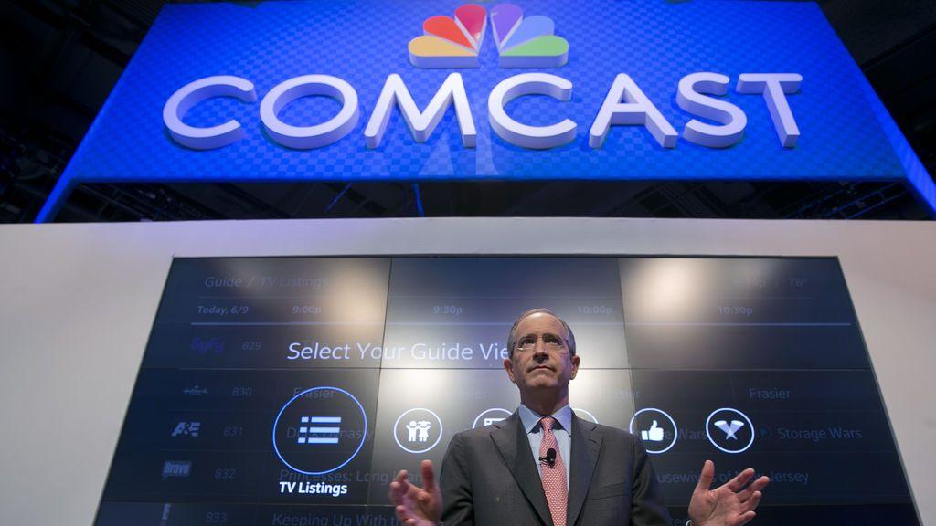 El presidente y director ejecutivo de Comcast, Brian Roberts.