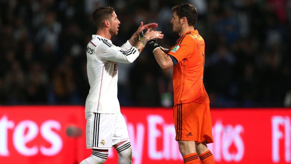 """Casillas llega al Mundial y Sergio Ramos le da la bienvenida a su manera: """"Welcome, Trinqueti"""""""