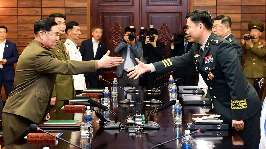 Cumbre de las dos Coreas en Panmunjon