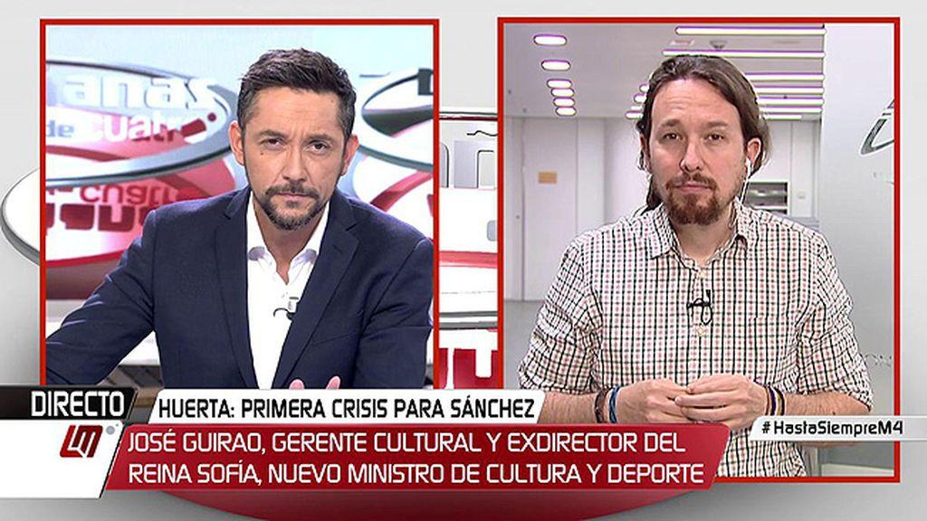 La entrevista de Pablo Iglesias en 'Las Mañanas de Cuatro', a la carta