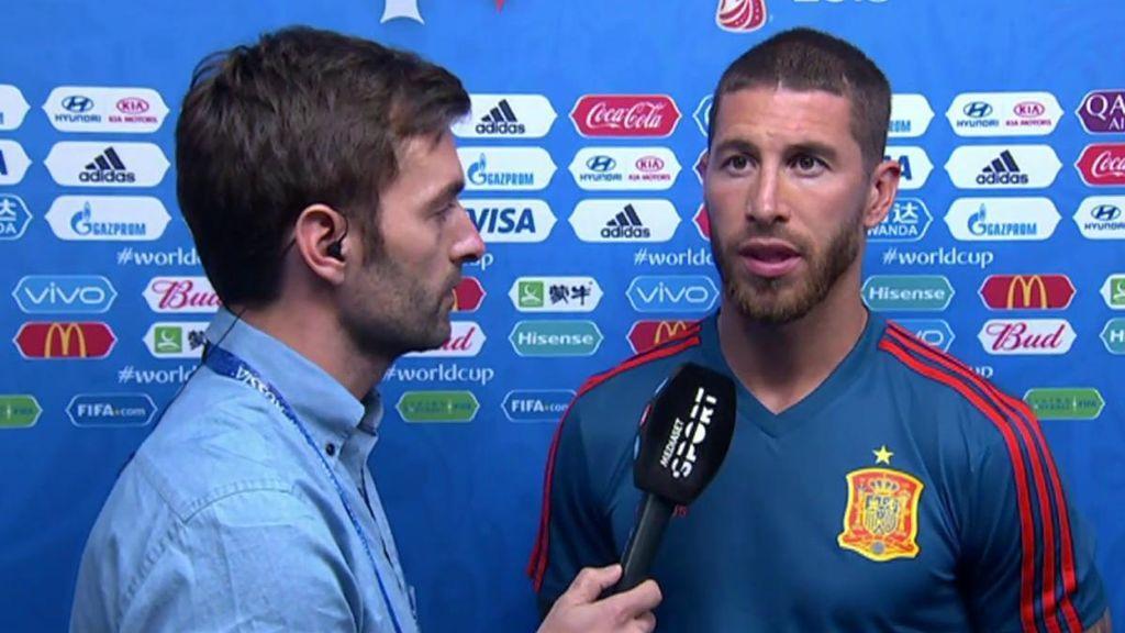 """Ramos, sobre su reunión con Rubiales: """"No tuve ningún momento tenso, ninguna pelea, mi relación con el presidente es muy buena"""""""