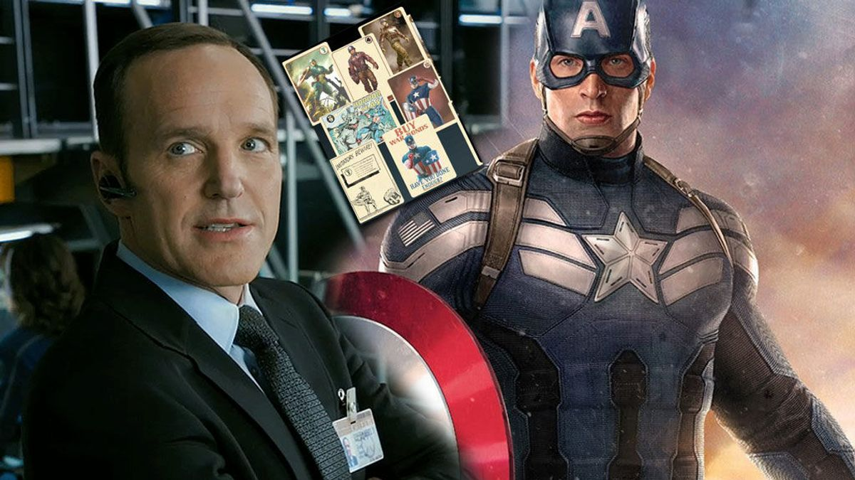 El héroe de Phil Coulson es… ¡Capitán América!