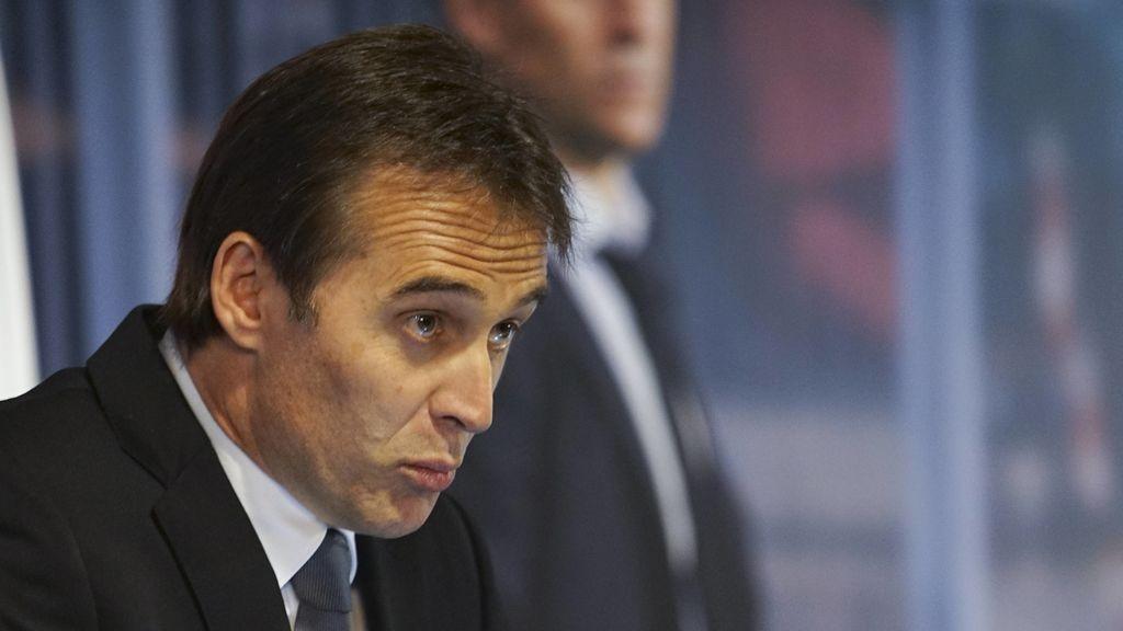 """El mensaje de Julen Lopetegui a la Selección española y Fernando Hierro: """"Todo lo mejor en este Mundial"""""""