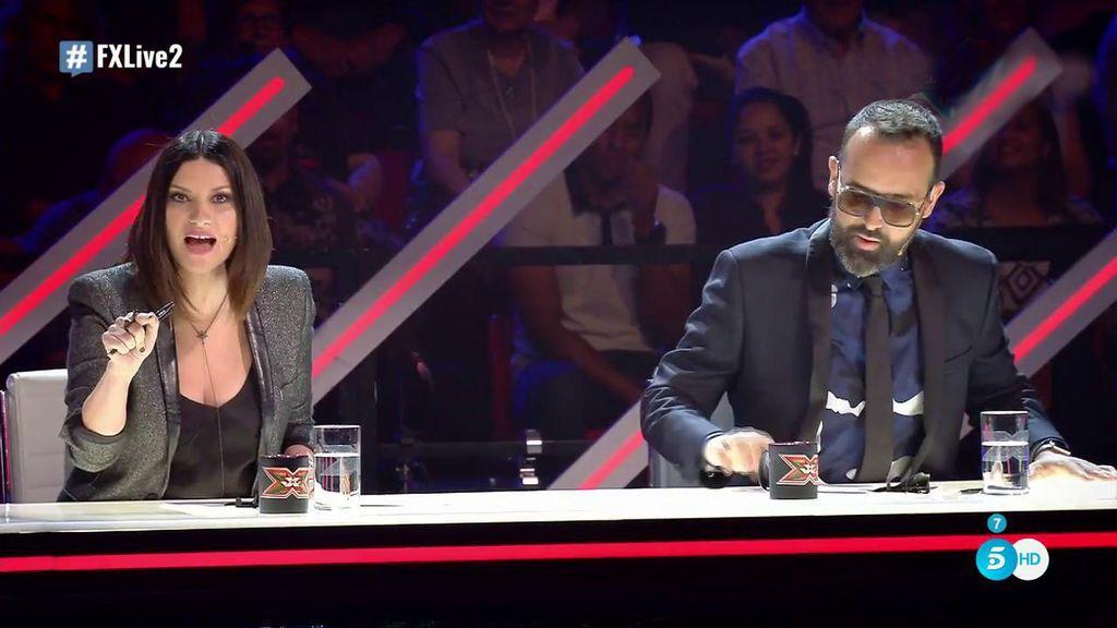 Laura Pausini saca las uñas contra Risto Mejide para defender a Pol Granch