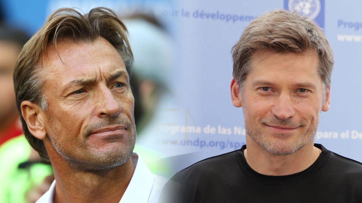 El entrenador de Marruecos…¿Jaime Lannister en Juego de Tronos? Las redes enloquecen con su parecido