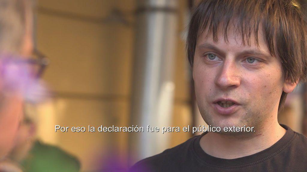 """Alexei Nazánov: """"Putin considera que el colectivo LGBT tiene que estar censurado"""""""
