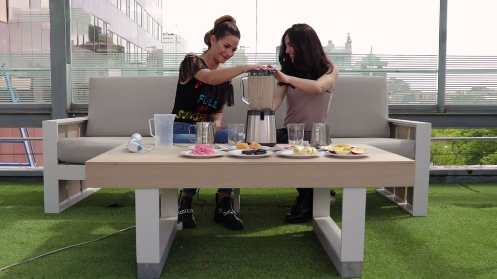 No apto para paladares delicados: el vomitivo smoothie challenge de Tamara Gorro y Patry Jordán