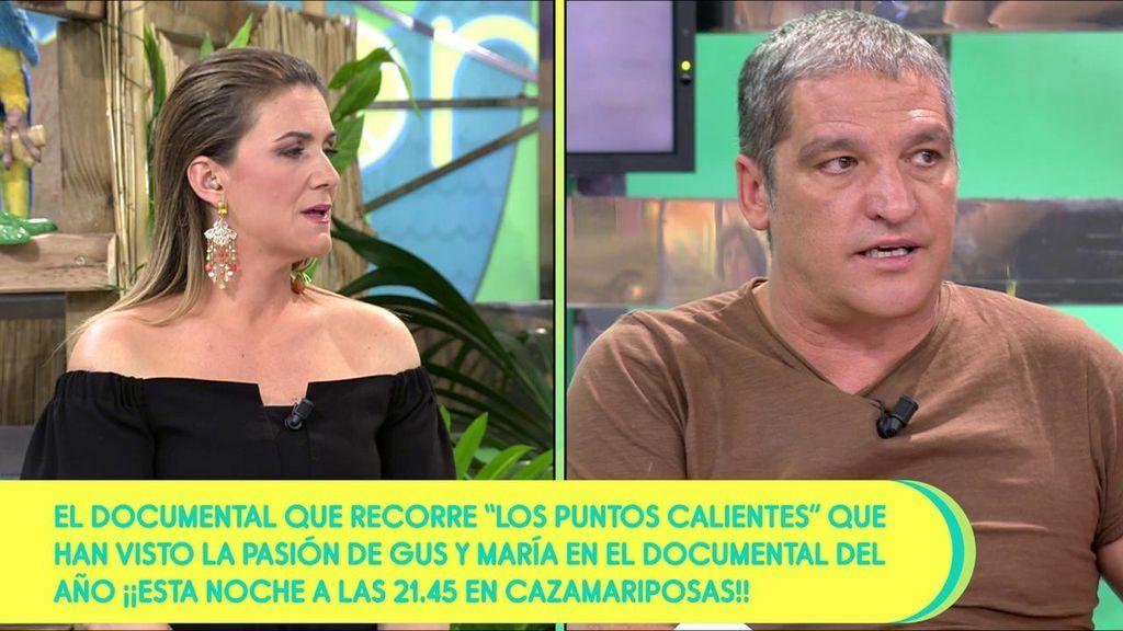 """Gustavo podría haber roto con María Lapiedra: """"¡No hablo a menudo con ella!"""""""