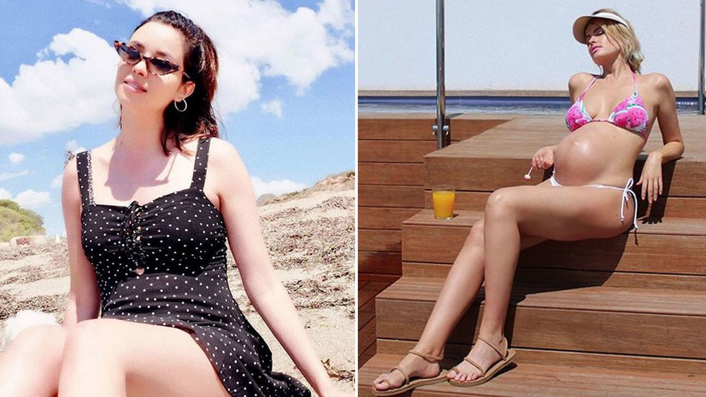 Dafne Fernández y Adriana Abenia toman el sol embarazadas: consejos para que no te salgan manchas