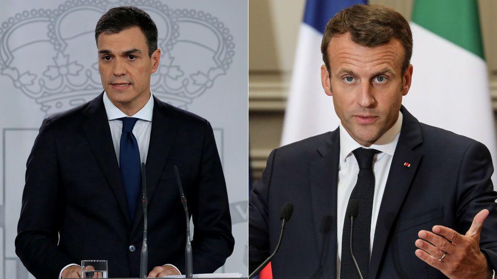 Pedro Sánchez envía un telegrama a Macron para agradecerle el gesto con el Aquarius