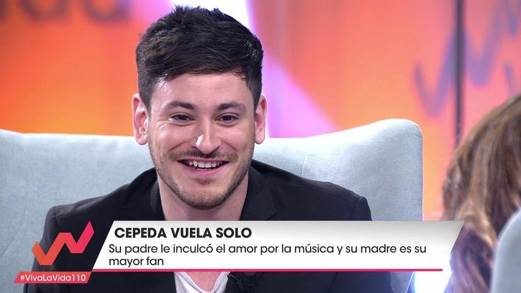 """Cepeda, sobre su paso por 'La Voz': """"Alejandro Sanz no se giró pero ahora me sigue en Twitter"""""""