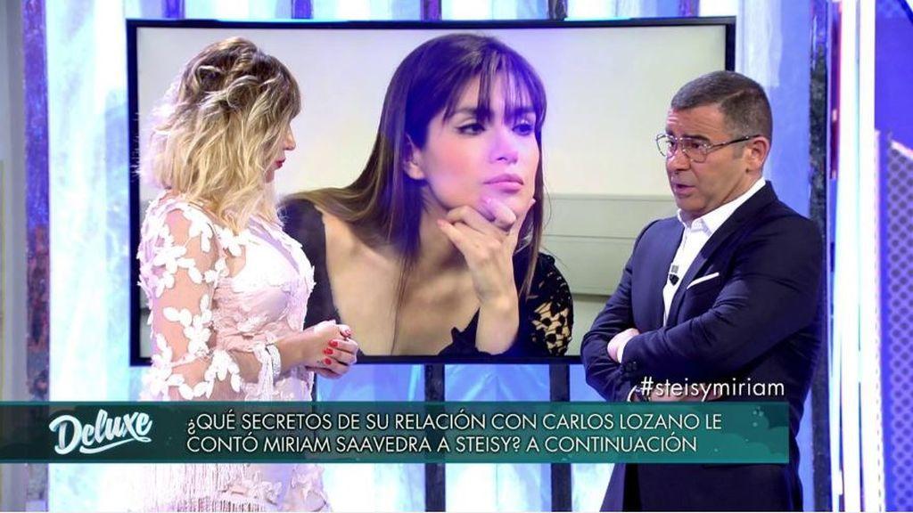 """Steisy no se corta: """"Miriam Saavedra vino a mi casa para que yo filtrara toda la información"""""""
