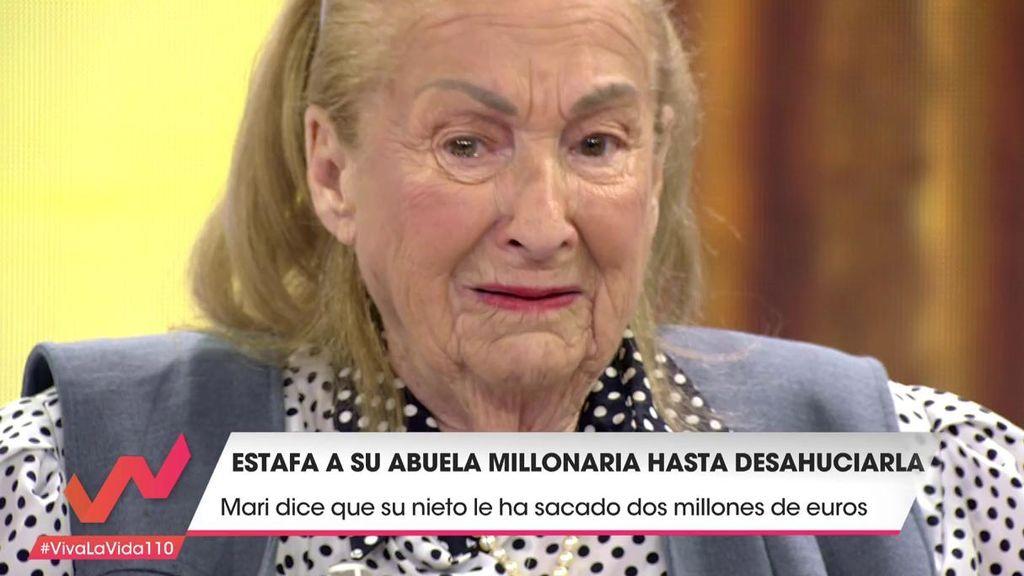 """Una abuela de 99 años, estafada por su nieto: """"¡Cómo no voy a llorar si me echan a la calle!"""""""