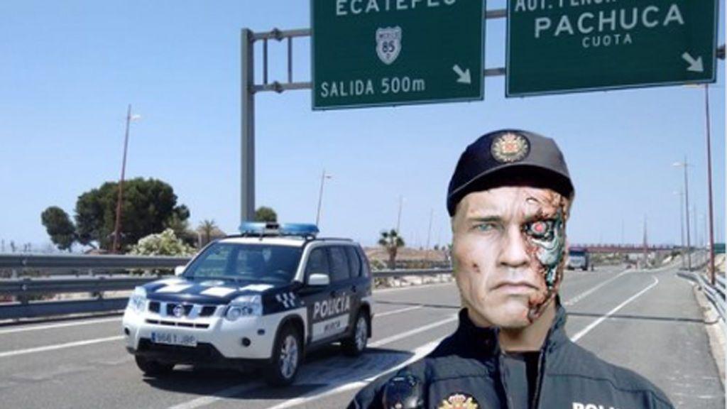 La Policía Local de Murcia ficha a 'Terminator'