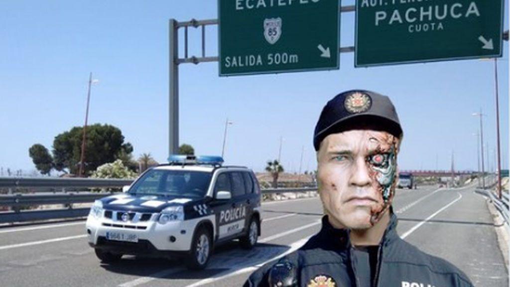 """'Terminator' ahora """"trabaja"""" con la Policía Local de Murcia"""