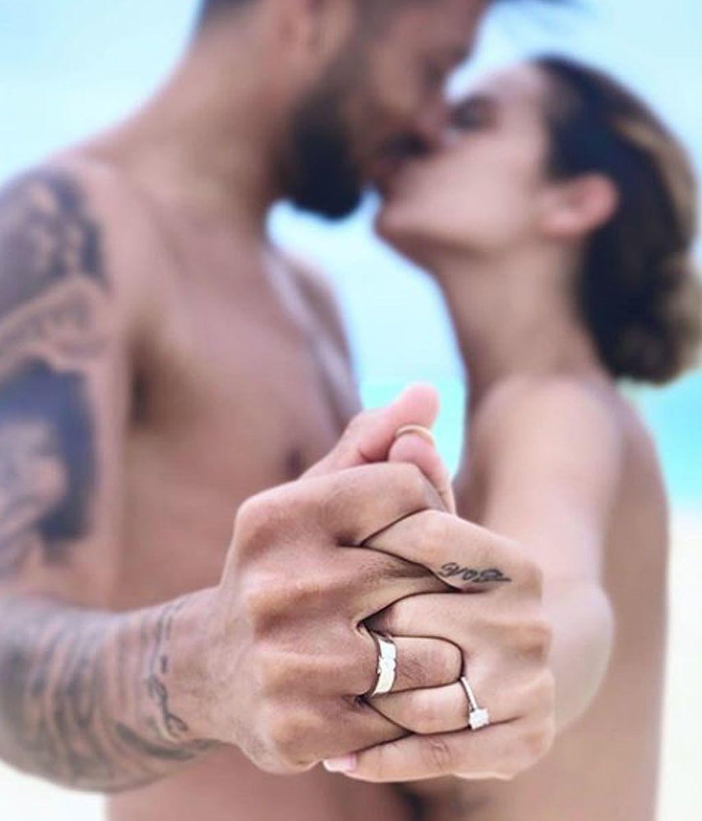 ¡Tamara Gorro y Ezequiel Garay se casan por sorpresa en Maldivas!